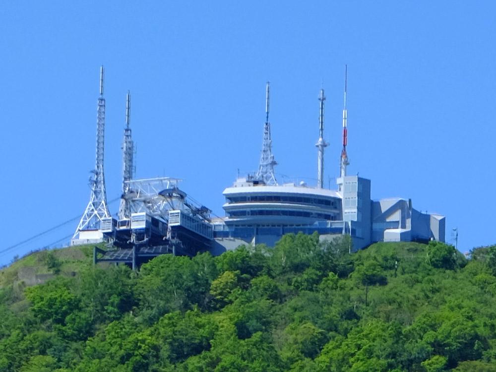 函館山ロープウェイ山頂展望台改修電気設備工事