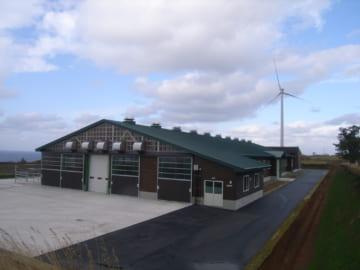 平成31年度施行 平成30年度繰越分 肉牛改良センター建設事業 牛舎建設(電気設備工事)
